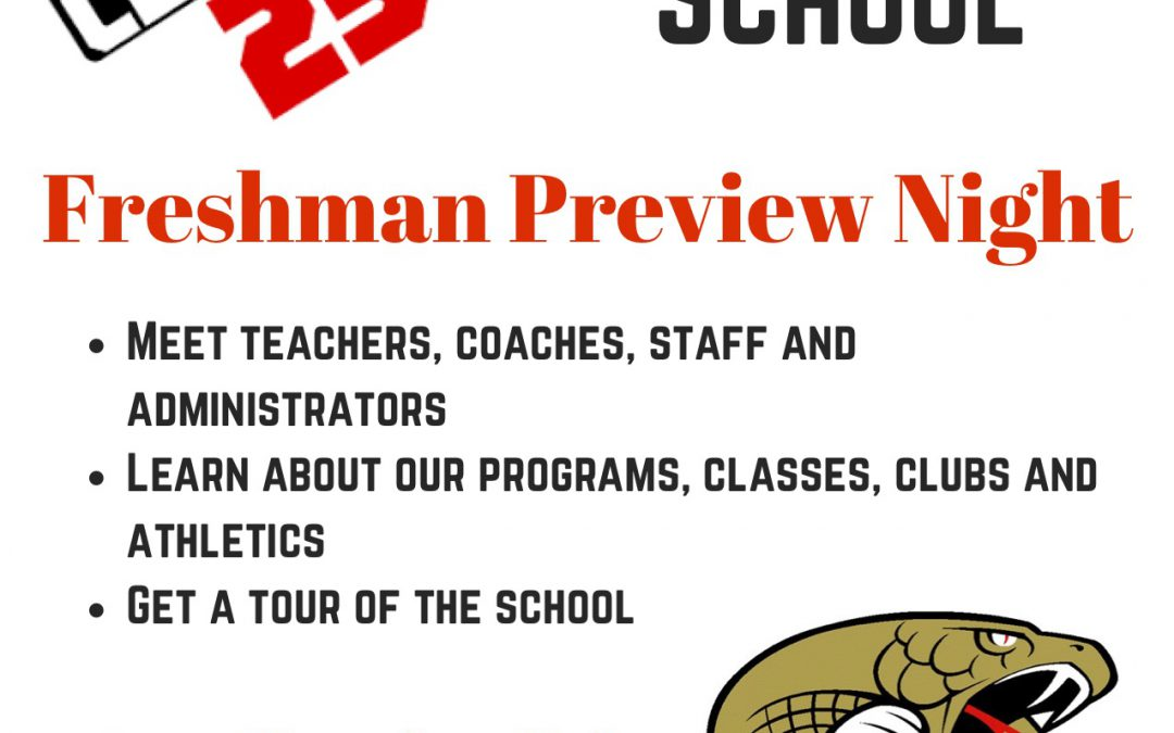 Hudson High School Freshman Preview